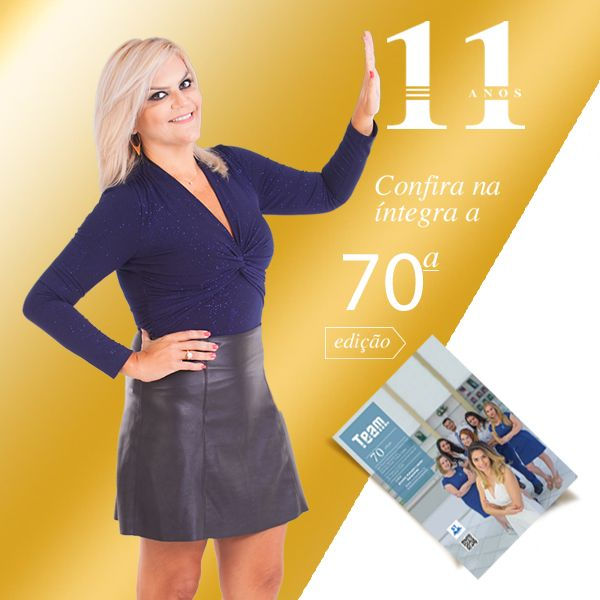 Revista Team 70ª edição